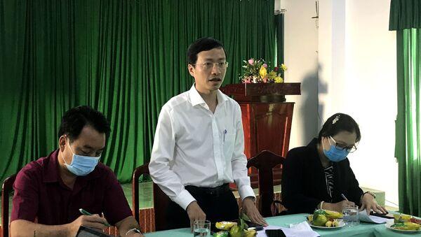 Phó Giáo sư, Tiến sĩ, Viện trưởng Viện Pasteur thành phố Hồ Chí Minh Phan Trọng Lân phát biểu tại buổi làm việc - Sputnik Việt Nam