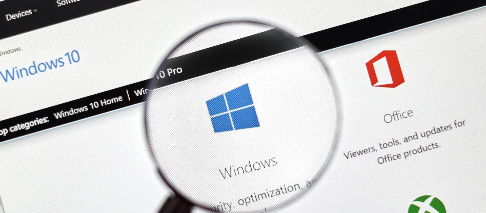Hệ điều hành Windows 10 - Sputnik Việt Nam, 1920, 29.12.2020