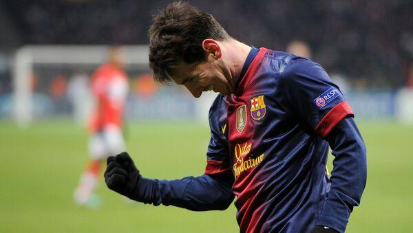 Tiền đạo Lionel Messi - Sputnik Việt Nam