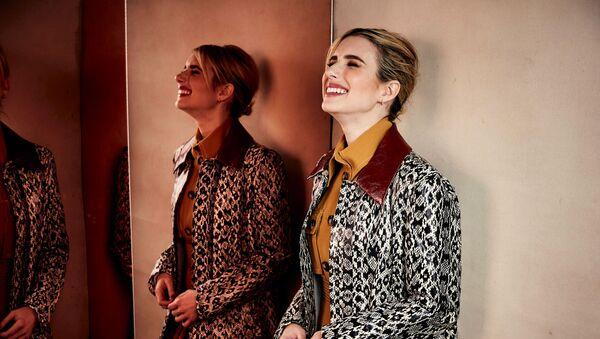 Nữ diễn viên Emma Roberts trong Liên hoan phim Sundance ở Mỹ. - Sputnik Việt Nam