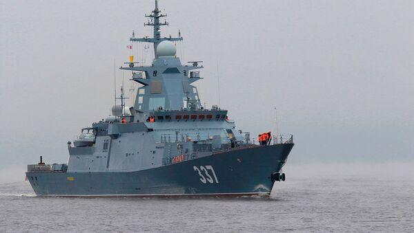 Tàu hộ tống Gremyashchy. - Sputnik Việt Nam