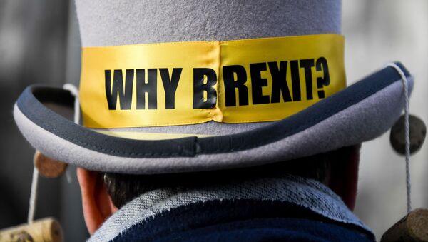 Biểu tình phản đối Brexit ở London. - Sputnik Việt Nam