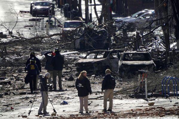 Hậu quả vụ nổ ở thành phố Nashville của Hoa Kỳ  - Sputnik Việt Nam