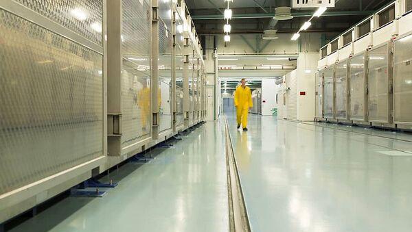 Bên trong Nhà máy làm giàu uran Fordow ở Qom, Iran. - Sputnik Việt Nam