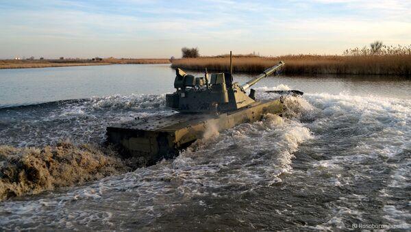 Xe tăng lội nước hạng nhẹ Sprut-SDM1 - Sputnik Việt Nam
