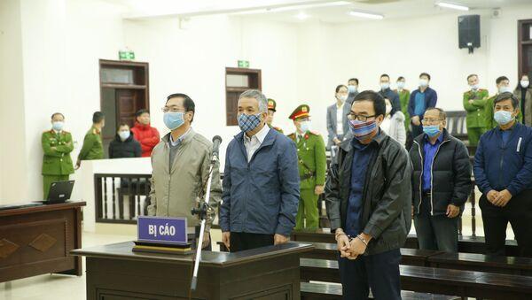 Bị cáo Vũ Huy Hoàng khai báo trước Hội đồng xét xử - Sputnik Việt Nam