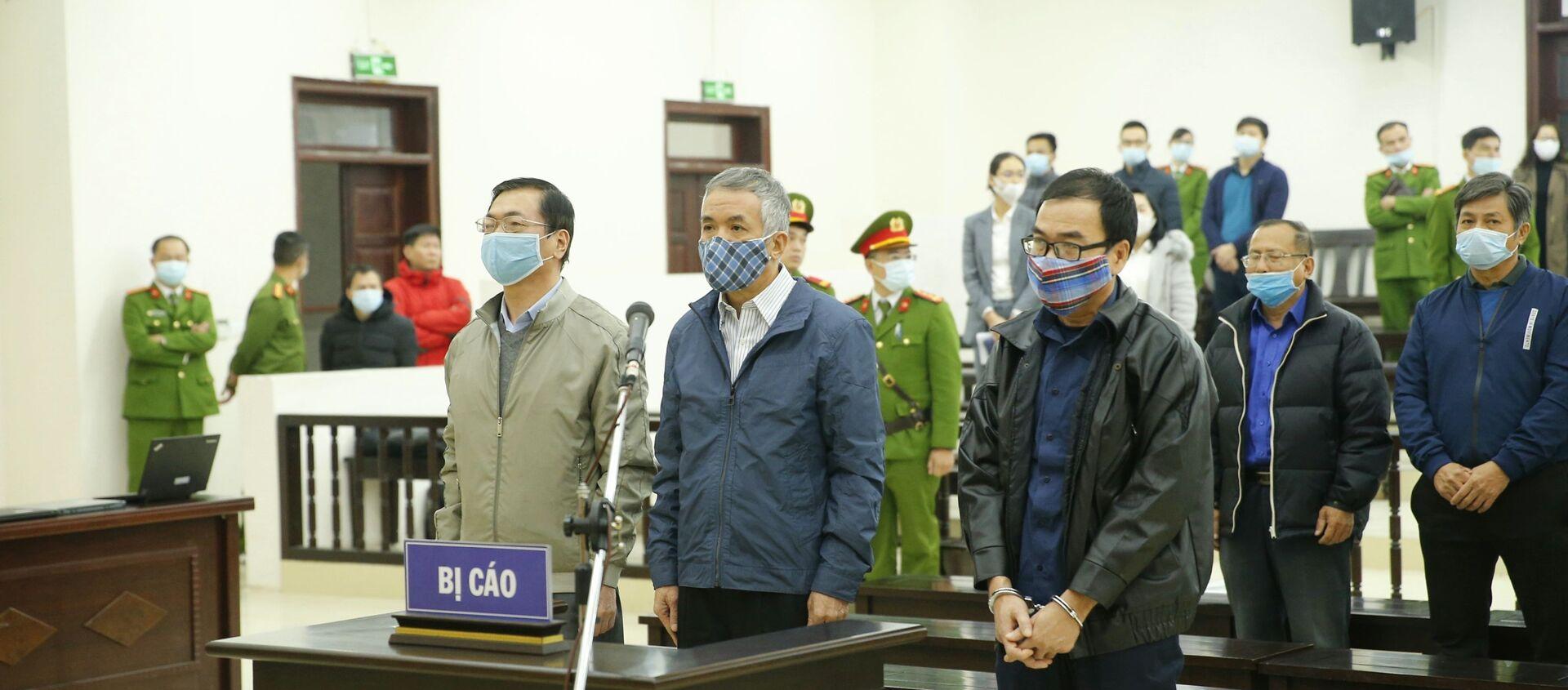 Bị cáo Vũ Huy Hoàng khai báo trước Hội đồng xét xử - Sputnik Việt Nam, 1920, 07.01.2021