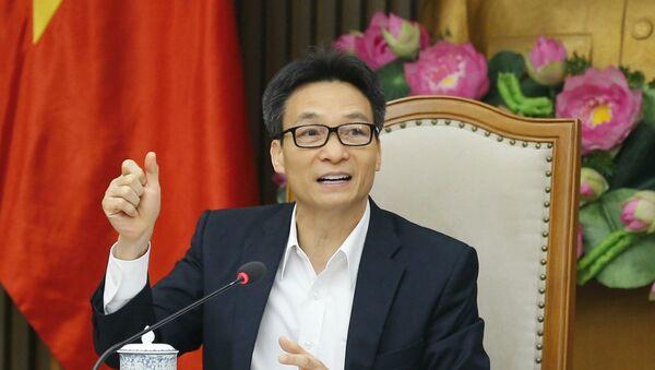 Phó Thủ tướng Vũ Đức Đam phát biểu - Sputnik Việt Nam