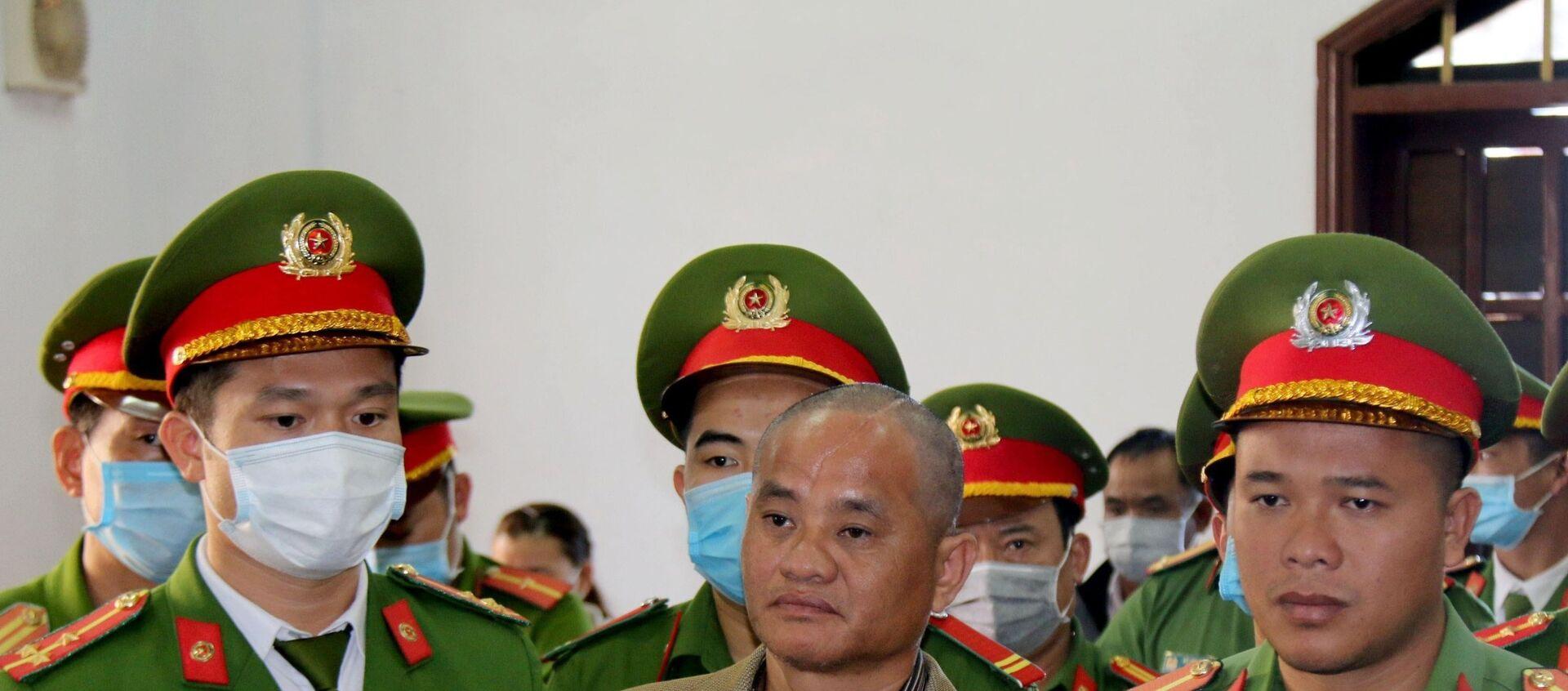 Bị cáo Đỗ Văn Minh bị tuyên tử hình. - Sputnik Việt Nam, 1920, 08.01.2021