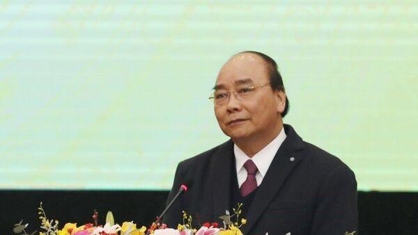 Thủ tướng Nguyễn Xuân Phúc phát biểu chỉ đạo. - Sputnik Việt Nam