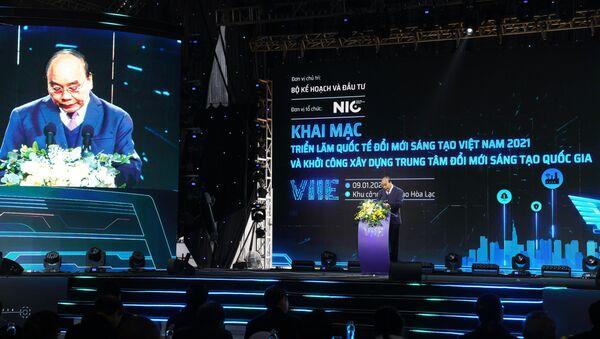 Khai trương Triển lãm VIIE 2021 - Sputnik Việt Nam