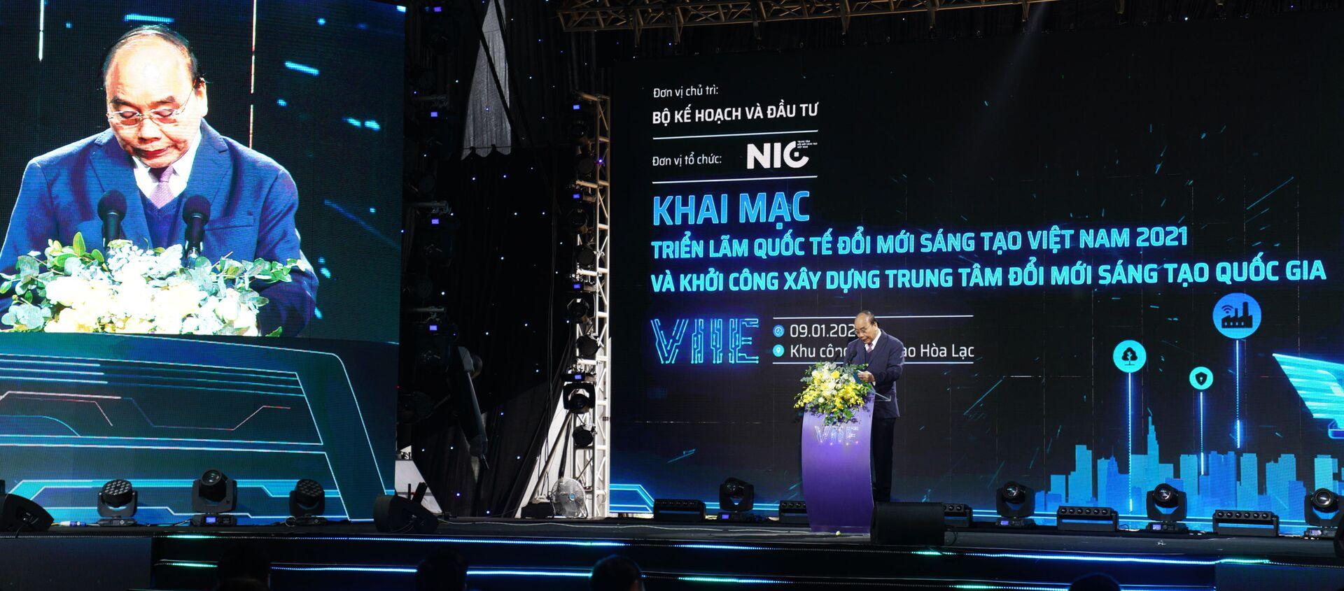 Khai trương Triển lãm VIIE 2021 - Sputnik Việt Nam, 1920, 09.01.2021