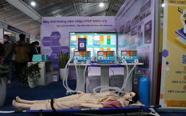 Máy thở không xâm nhập CPAP MMD-V1 - Sputnik Việt Nam