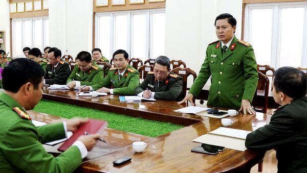 Ban chuyên án thực hiện phá thành công chuyên án tín dụng đen.  - Sputnik Việt Nam
