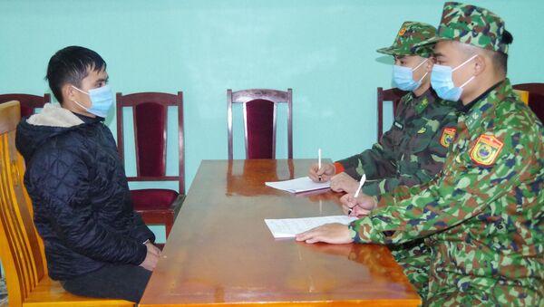Đối tượng Lưu Văn Mìn thừa nhận hành vi phạm tội - Sputnik Việt Nam