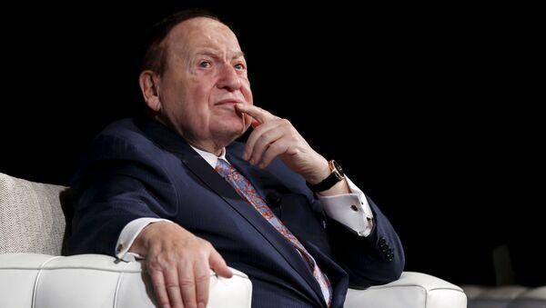 Tỷ phú Sheldon Adelson - người sáng lập Las Vegas Sands. - Sputnik Việt Nam