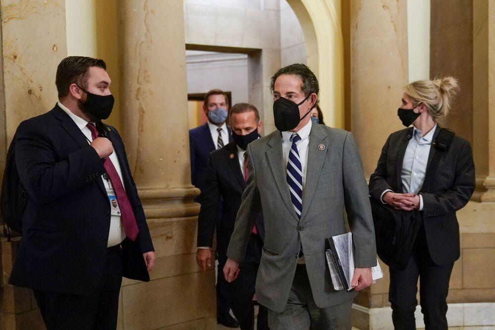 Dân biểu Hạ viện Hoa Kỳ Jami Raskin tại Washington Capitol