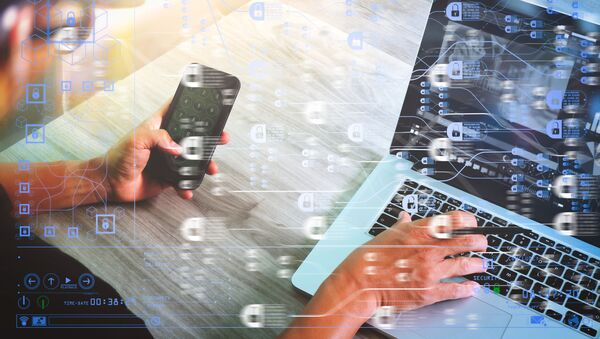 Công nghệ chuỗi khối Blockchain. - Sputnik Việt Nam