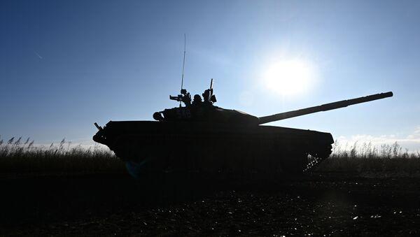 Xe tăng T-72B3 - Sputnik Việt Nam
