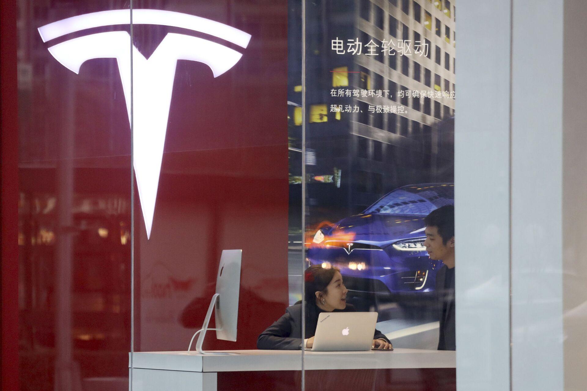 Tesla phải hãm phanh tại Trung Quốc - Sputnik Việt Nam, 1920, 08.06.2021