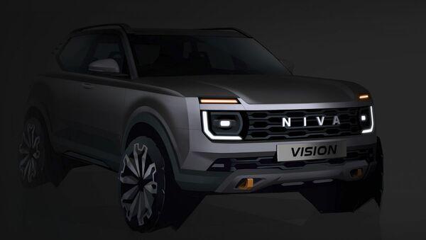 Diện mạo tương lai của xe Lada Niva Vision - Sputnik Việt Nam
