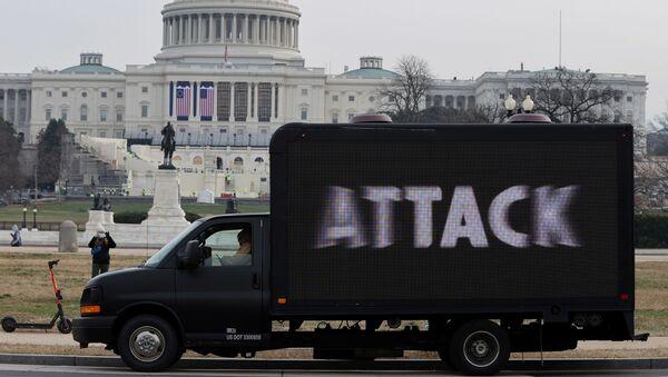 Tình hình tại Điện Capitol ở Washington - Sputnik Việt Nam