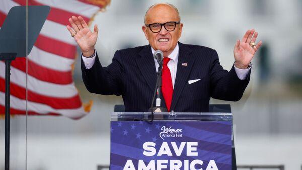Tổng thống Hoa Kỳ Rudolph Giuliani - Sputnik Việt Nam