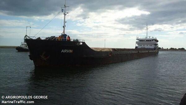 Tàu chở hàng của Nga bị chìm ở Biển Đen ngoài khơi Thổ Nhĩ Kỳ - Sputnik Việt Nam