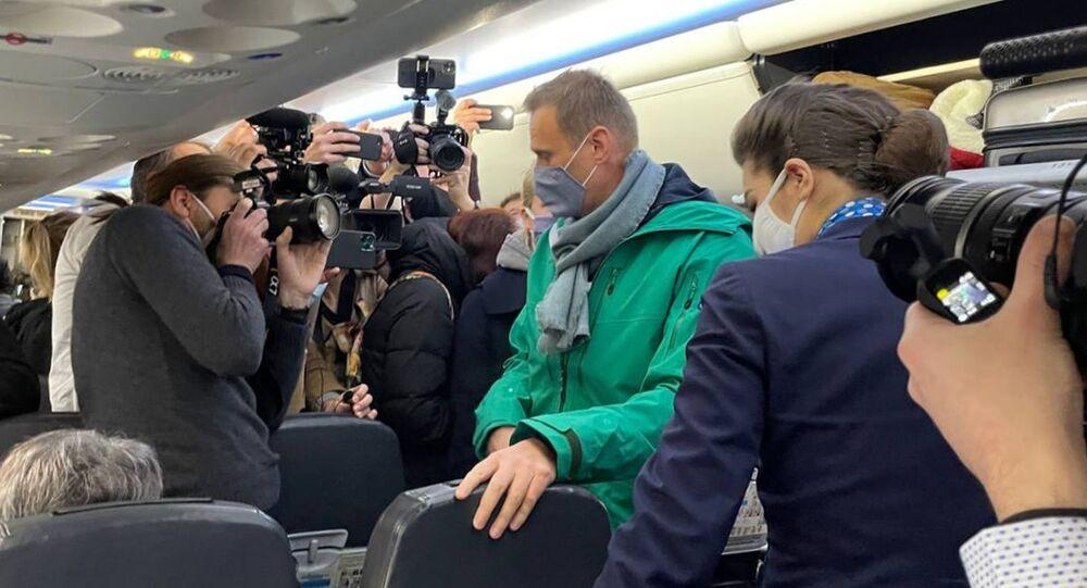 Alexei Navalny trở về Nga