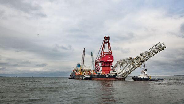 Tàu chuyên dụng Fortuna ở cảng thành phố Wismar của Đức - Sputnik Việt Nam