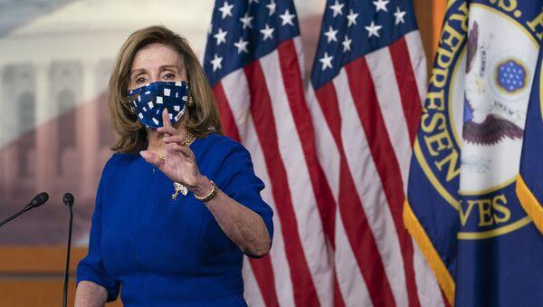 Chủ tịch Hạ viện Mỹ Nancy Pelosi  - Sputnik Việt Nam