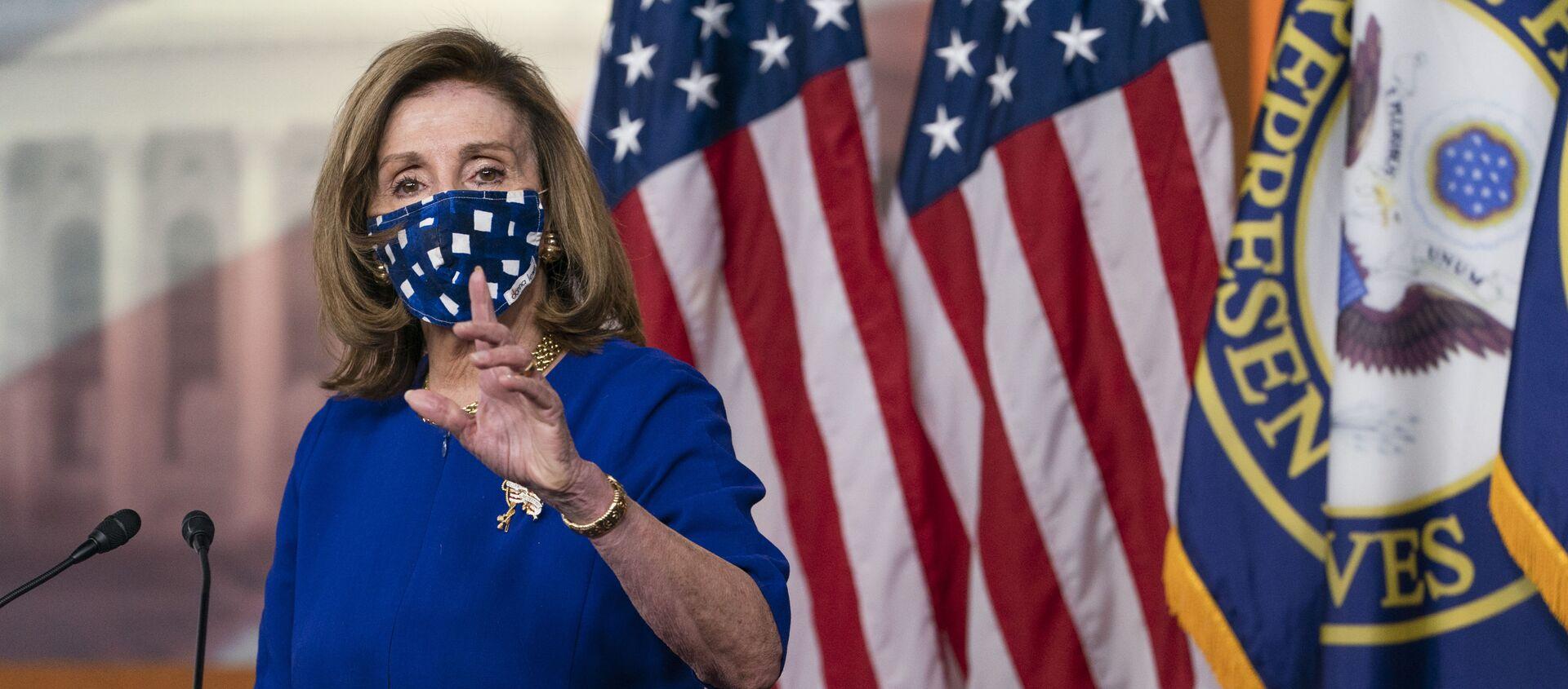 Chủ tịch Hạ viện Mỹ Nancy Pelosi  - Sputnik Việt Nam, 1920, 19.05.2021
