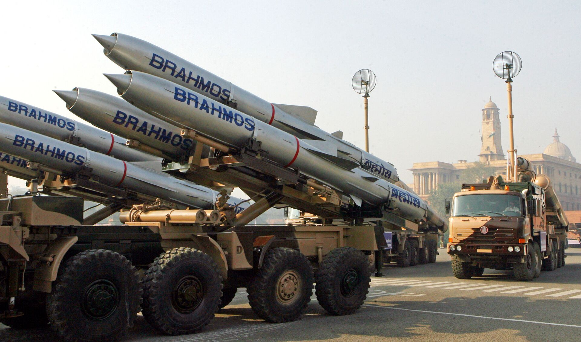 Tên lửa BrahMos  - Sputnik Việt Nam, 1920, 05.10.2021