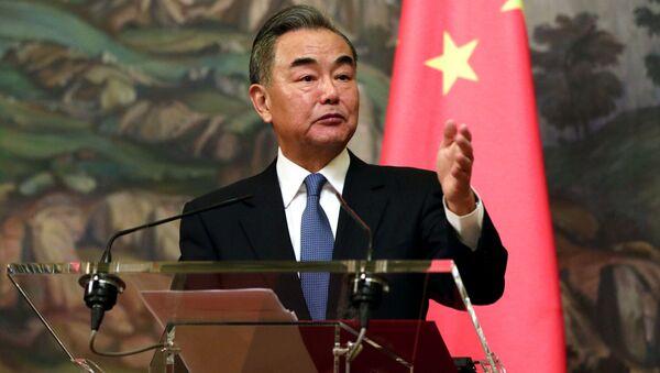 Bộ trưởng Ngoại giao Trung Quốc Vương Nghị - Sputnik Việt Nam