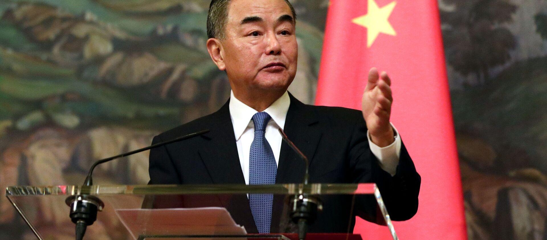 Bộ trưởng Ngoại giao Trung Quốc Vương Nghị - Sputnik Việt Nam, 1920, 17.09.2021