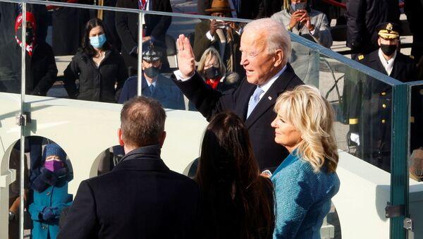 Joe Biden tuyên thệ nhậm chức ở Washington - Sputnik Việt Nam