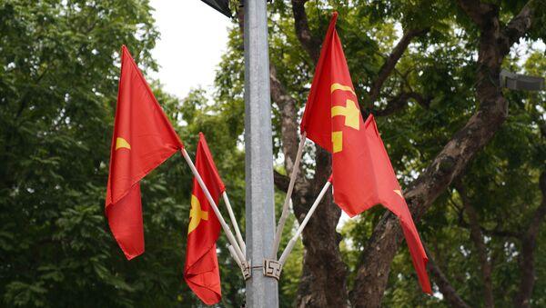 Lá cờ việt nam - Sputnik Việt Nam