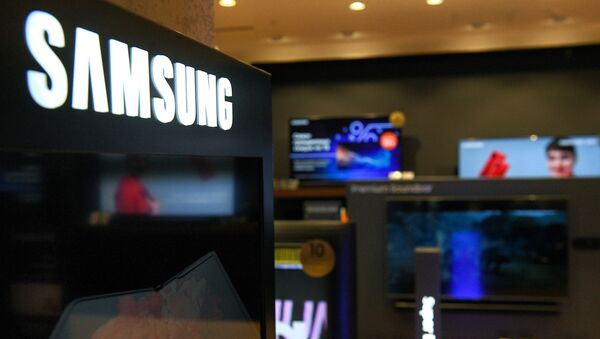 Tiệm thương hiệu Samsung Electronics ở Moscow - Sputnik Việt Nam