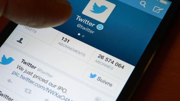 Điện thoại thông minh có ứng dụng Twitter mở - Sputnik Việt Nam