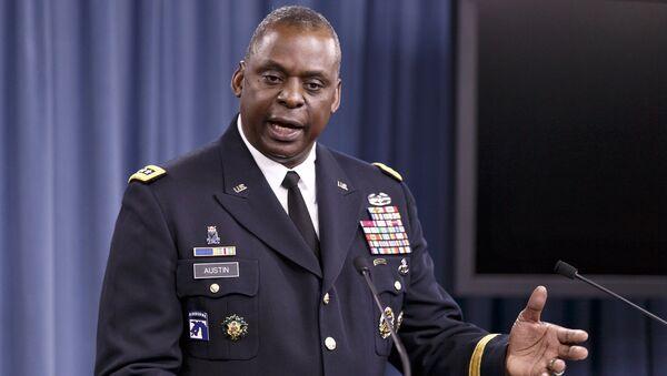 Tướng Lục quân Lloyd J. Austin III, Tư lệnh Bộ Tư lệnh Trung tâm Hoa Kỳ - Sputnik Việt Nam