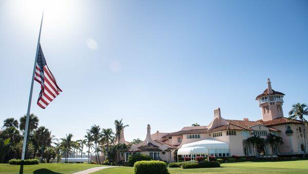Dinh thự riêng của cựu Tổng thống Mỹ Donald Trump Mar-a-Lago ở Palm Beach - Sputnik Việt Nam