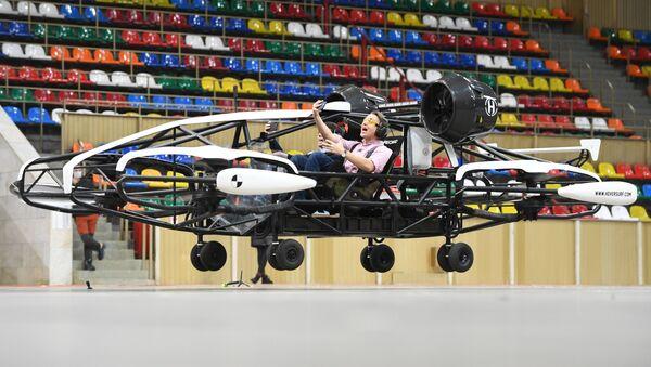 Thử nghiệm taxi bay không người lái ở sân vận động Luzhniki, Moskva - Sputnik Việt Nam