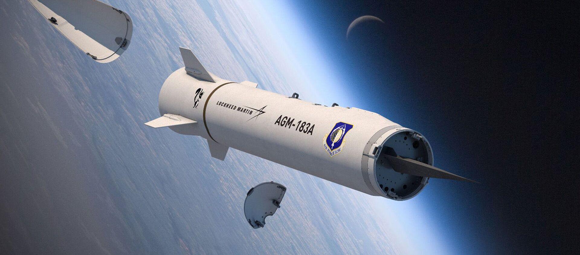 AGM-183A ARRW - tên lửa hành trình không đối đất siêu thanh - Sputnik Việt Nam, 1920, 07.04.2021