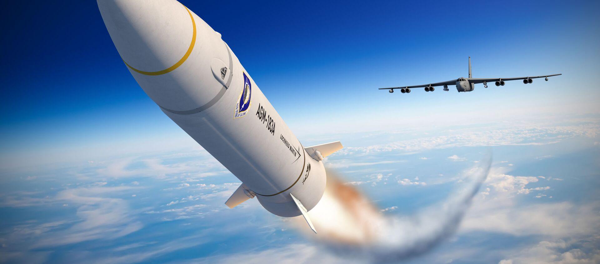 AGM-183A ARRW - tên lửa hành trình không đối đất siêu thanh - Sputnik Việt Nam, 1920, 06.04.2021