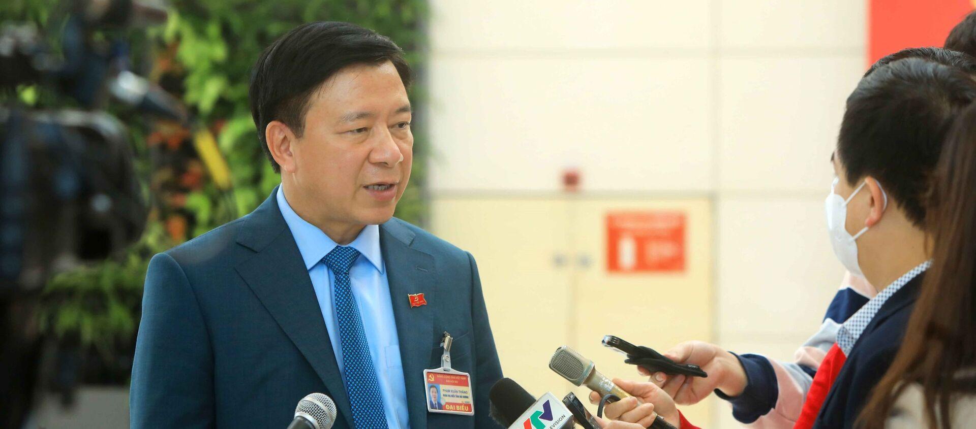 Bí thư Tỉnh ủy Hải Dương trả lời phỏng vấn của cơ quan báo chí về việc phát hiện các ca lây nhiễm COVID-19 trong cộng đồng tại Hải Dương và Quảng Ninh - Sputnik Việt Nam, 1920, 28.01.2021