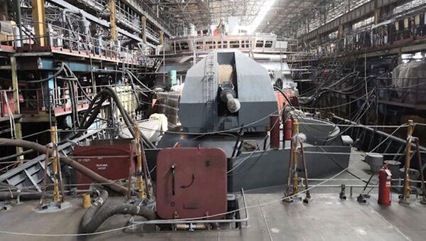 Hạm đội Nga sẽ nhận được tàu hộ tống Rezkiy với khả năng nhìn thấy tất cả - Sputnik Việt Nam