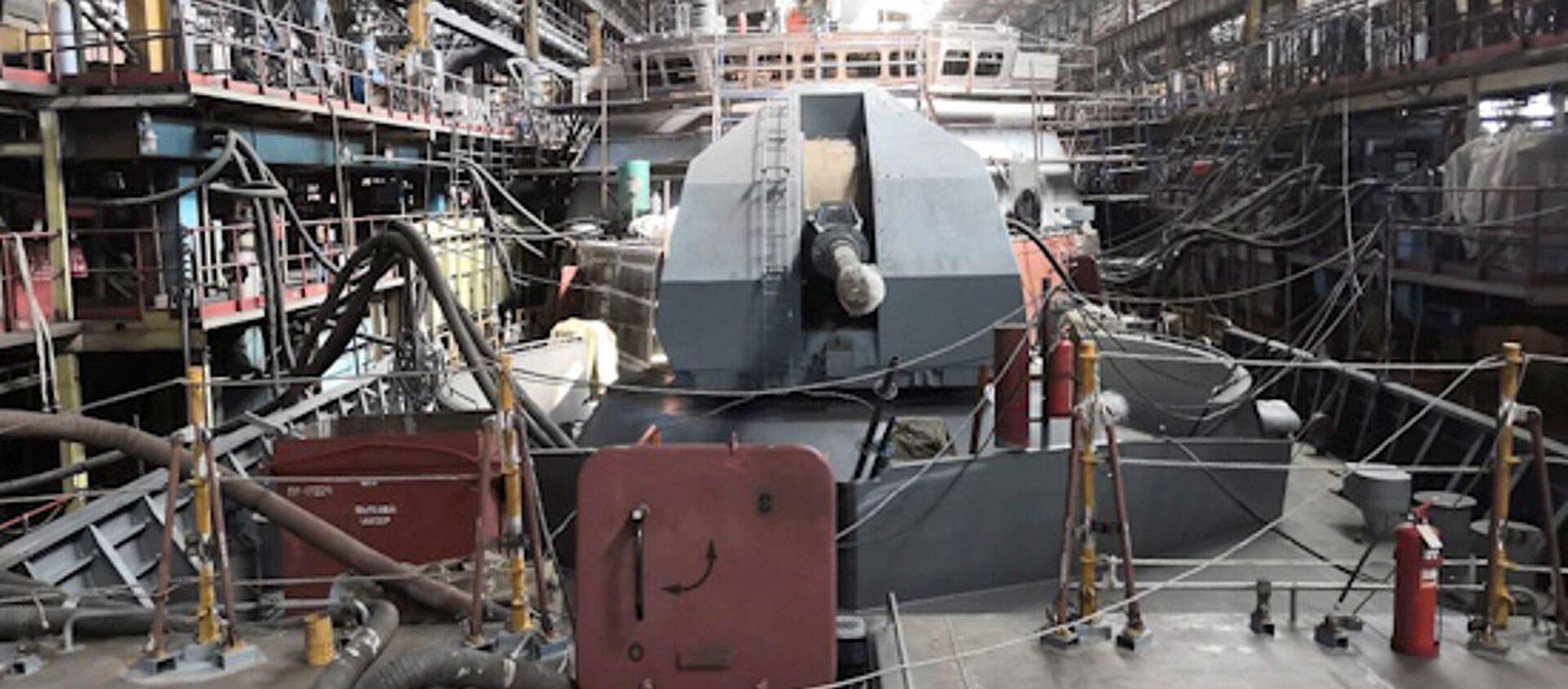 Hạm đội Nga sẽ nhận được tàu hộ tống Rezkiy với khả năng nhìn thấy tất cả - Sputnik Việt Nam, 1920, 29.01.2021