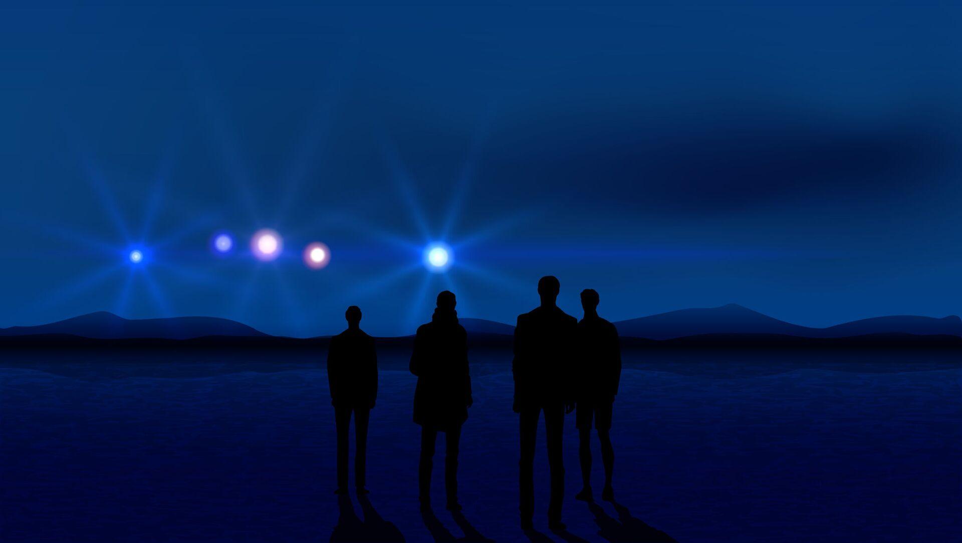 Bóng người và phát sáng trên bầu trời - Sputnik Việt Nam, 1920, 31.05.2021