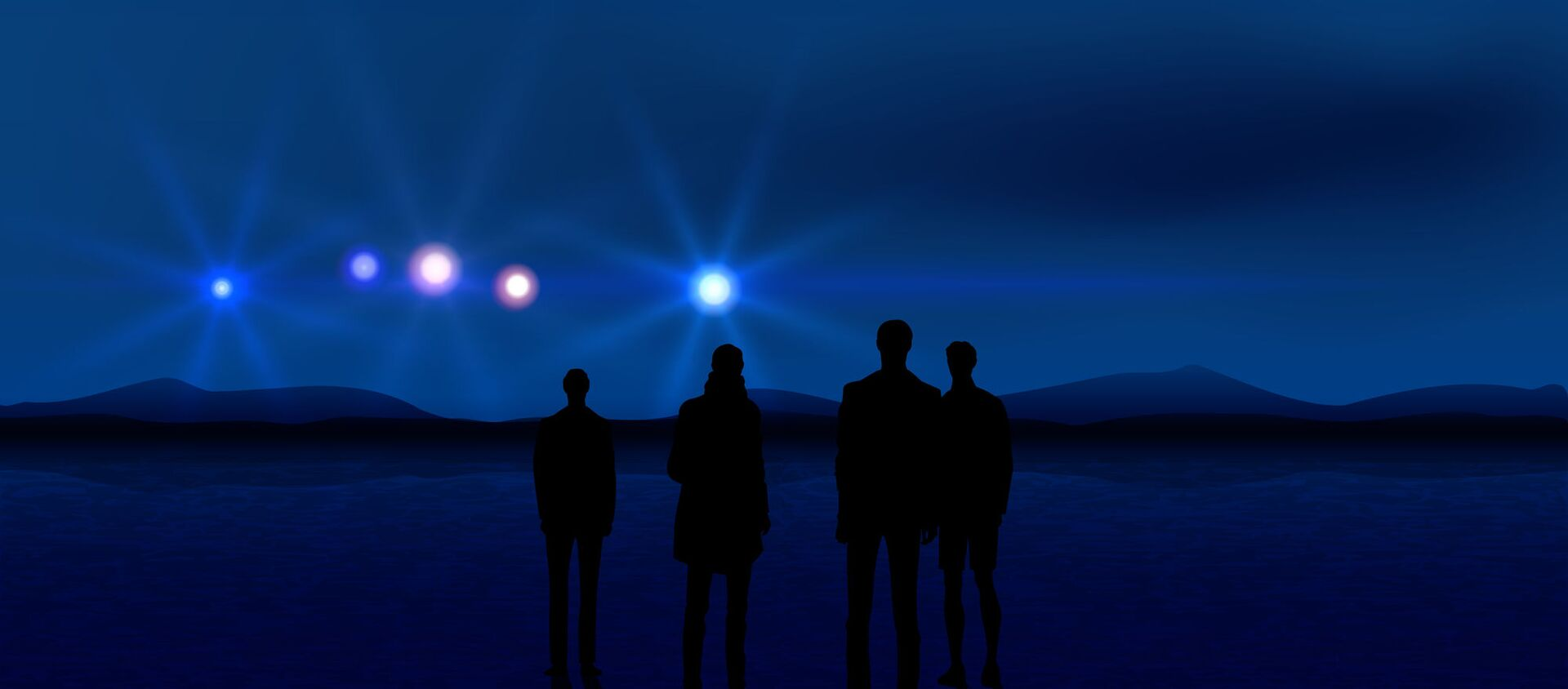 Bóng người và phát sáng trên bầu trời - Sputnik Việt Nam, 1920, 28.01.2021