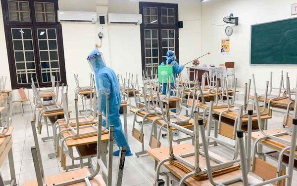 COVID-19: Ngành Giáo dục tăng cường phòng chống dịch - Sputnik Việt Nam